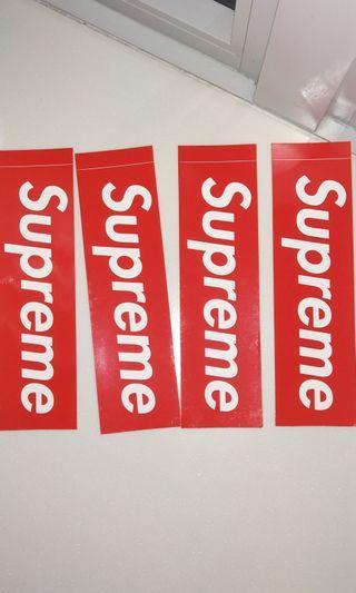 Authetic supreme sticker