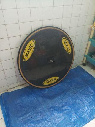 Wts/wtt Mavic comete tubular disc wheel (slight nego)