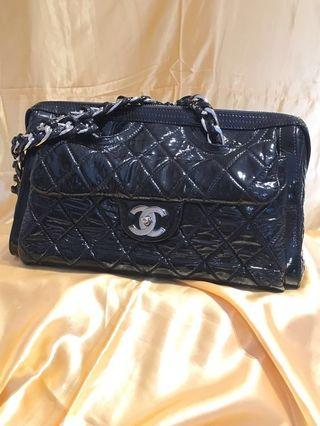 Moving sales- Chanel patented leather bag