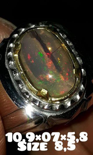 Cincin kalimaya teh kristal banten natural berakar