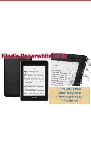 🚚 Amazon Kindle Paperwhite 2018 & 2016  Free 9000+ English and Chinese eBooks