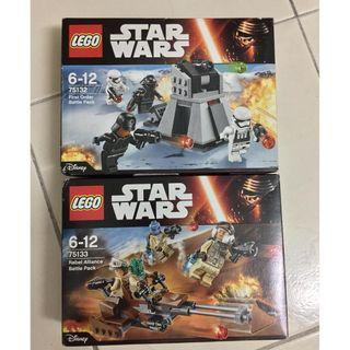 LEGO Star Wars Bundle 75132 & 75133 (Retired)