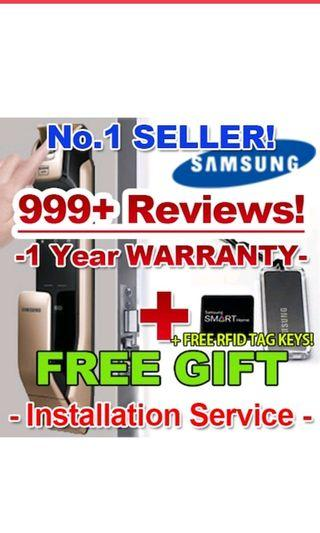 🚚 SHP-DP930 / SAMSUNG FINGERPRINT DIGITAL DOORLOCK EZON Door Lock