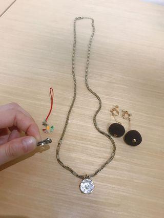 🚚 贈品項鍊耳環戒指吊飾(買就送任選)