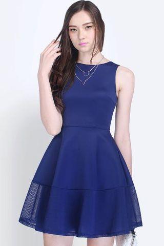 Fayth London Dress Navy Blue XS (Not BNWT)