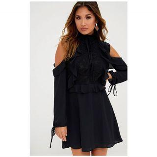 Brand new ruffle dress sz 2