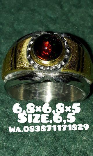 Cincin kalimaya teh banten ring monel handmade