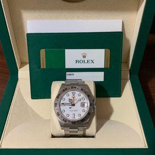 Rolex Explorer II 216570 Polar White