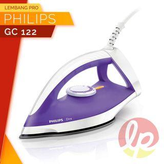 SETRIKA PHILIPS GC122 GC 122 350W DRY IRON