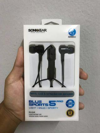 BLUETOOTH EARPHONES SONIGEAR