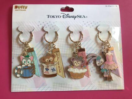[現貨] 包平郵 Tokyo DisneySea ~ 2019 Hide & Seek 系列 Duffy / ShellieMay 匙扣 #MTRmk #MTRcwb