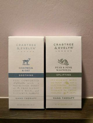 Crabtree & Evelyn Hand Therapy #thecurve