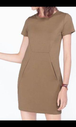 Fayth Midtown Dress (Taupe)