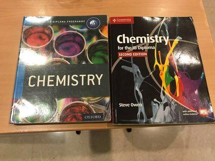 Textbook for IB diploma programmer chemistry tb Oxford and Cambridge