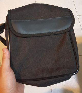 全新黑色斜揹袋
