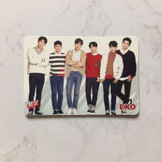EXO 31期 Yescard