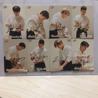 EXO 29期 Yescard