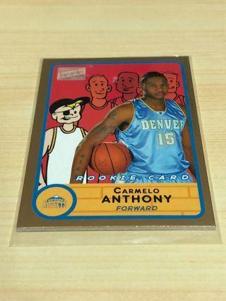 NBA 03年Carmelo Anthony 新人卡 金塊隊