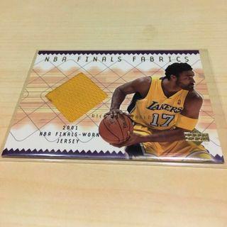 NBA 02年Rick Fox總冠軍賽球衣卡 湖人Lakers 小飛俠Kobe可參考