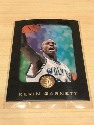NBA 96年 Kevin Garnett 狼王球員卡 灰狼