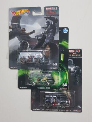 Hot Wheels Pop Culture set of 3