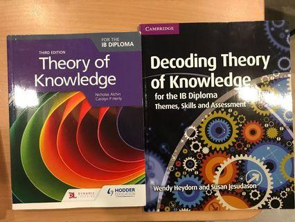 IB diploma IBDP TOK theory of knowledge textbook