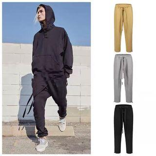 FOG ins long string ankle pull cotton joggers