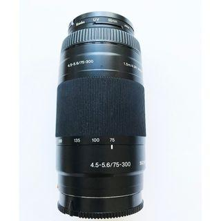 Sony 75-300mm 4.5-5.6   sale for S$327