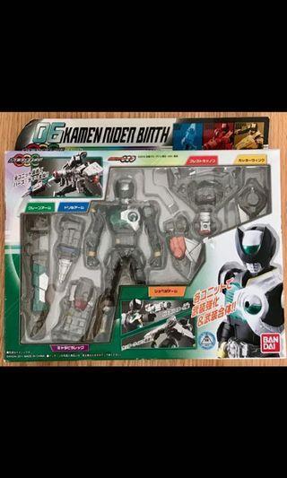 外盒已開封 日版 幪面超人 Kamen Rider Masked Rider OOO Combo Change Series 06 Birth  (齊件說明書,玩具從未陳設把玩)