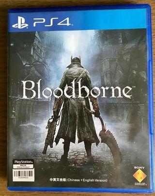 中古PS4 game 遊戲 Bloodborne (無花碟,繁體中文字幕)
