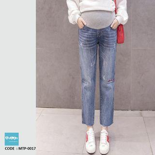 Straight Cut Maternity Jeans MTP-0017