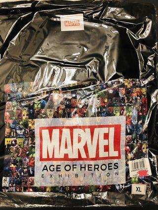 日本Marvel展限定Tee已絕版XL size