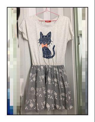 日系連身裙短裙可愛短款連身褲短袖裙