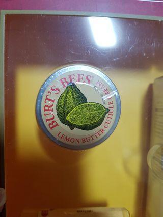 Burt's bees - lemon butter cuticle cream - 17g