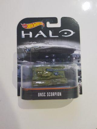 Hot Wheels UNSC Scorpion Halo