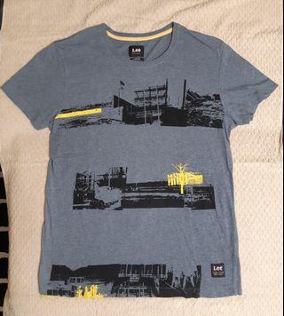 Lee 男短袖T恤