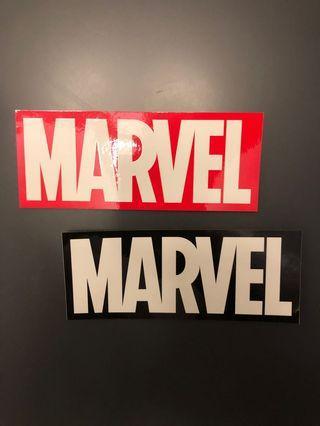 日本Marvel展限定非賣品貼子兩張(不設面交)