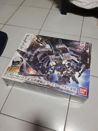 HG 1/144 Gundam Barbatos & Long Distance Transport Booster Kutan Type-III