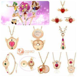 【預訂】婚紗小天使韓國Clue飾物系列Part 2 愛天使傳說 美少女戰士 Sailor Moon 首飾