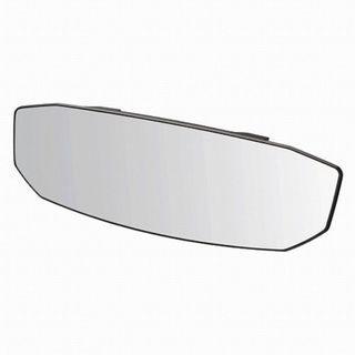 🚚 權世界@汽車用品 日本CARMATE 黑框八角形加高加寬超廣角曲面車內後視鏡(高反射鏡) 300mm M48