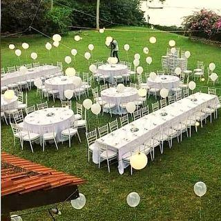 Tables Chairs Rental