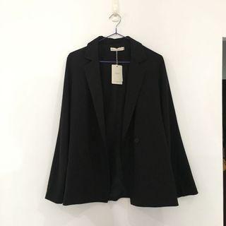 🚚 全新 春夏西裝外套 黑色西裝外套