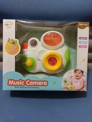 🚚 寶寶 聲光音樂照相機 益智玩具