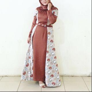 Dress panjang santishop