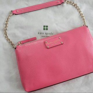 Kate Spate Byrd Wellesley Shoulder Bag (Pink)