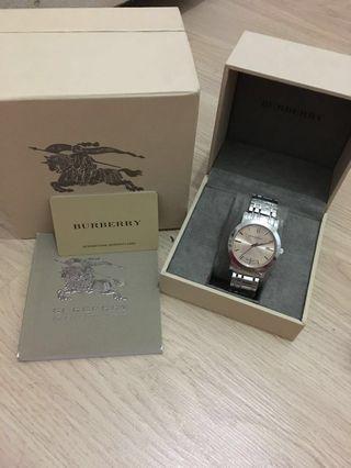 Burberry Watch BU1352 (100% original)