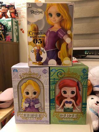 迪士尼公主系列 Rapunzel Ariel