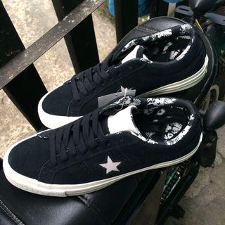 Converse One Star Suede Mouse Egret