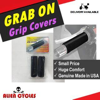 Restocking - Grab On Grip Covers - Reduce Vibrations Now!