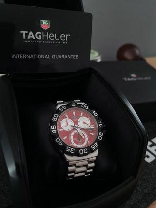 Tag heuer rare red face